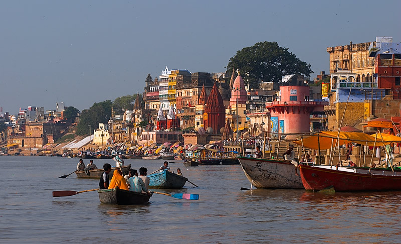Tha Ganges at Varanasi
