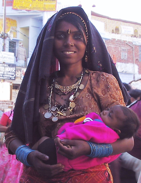 Pushkar woman