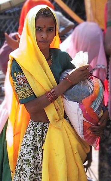 Bhundi woman
